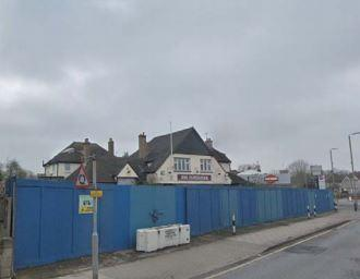 The Porcupine pub at Mottingham has been closed since 2013;