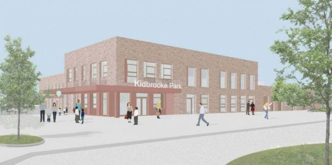 Artist Impression Of The New School