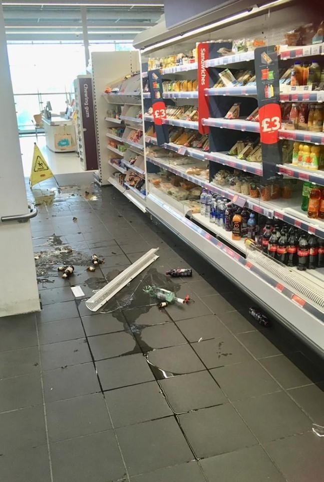 Abbey Wood Sainsburys Scene Of Group Fight As Man Left