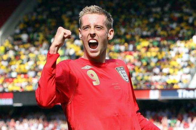 Peter Crouch scored 22 times for England