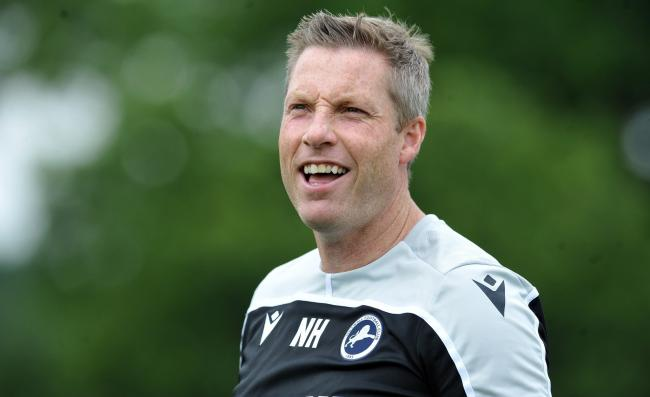 "Neil Harris confirms Millwall are ""close"" to bringing in an outfield player. Picture: Millwall FC"