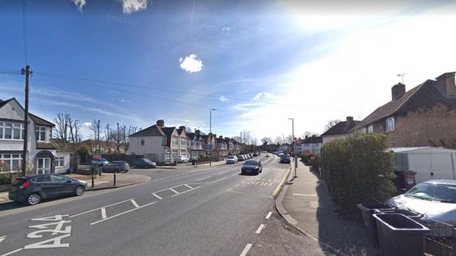 Google: Upper Elmers End Road
