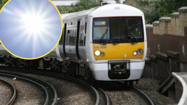 Southeastern railways to be affected by by tomorrow's extreme heat.