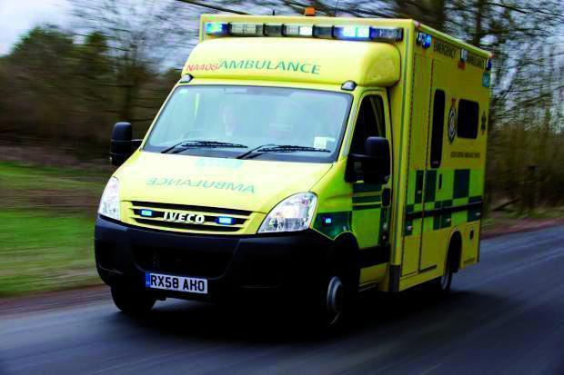 Man seriously injured and woman in hospital with non life-threatening injuries