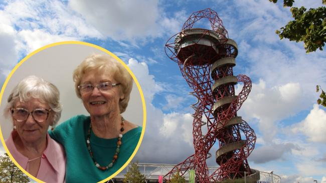 Erica Farrell (Left) and Shirley Roberts (Right) will be abseiling the AecelorMittal Orbit on August 22