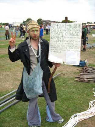 The festival will be held by Hare and Billet Road, on the same site as 2009's climate camp
