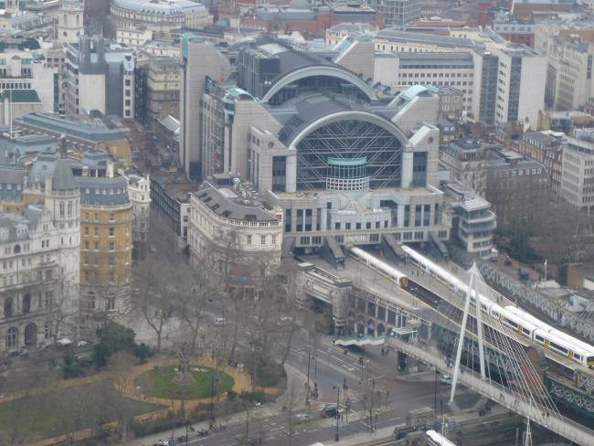 Charing Cross Station. Image: Mikey via Flickr