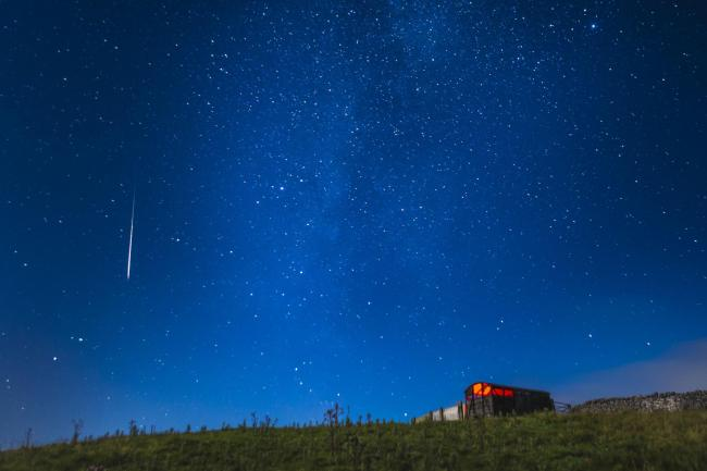 The Perseid meteor shower will be visible in the UK from tomorrow