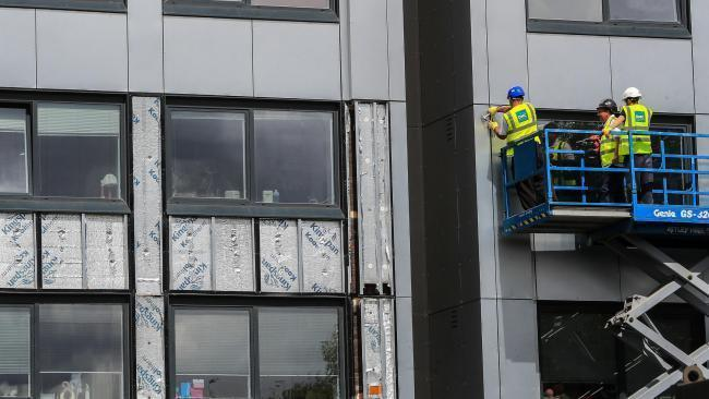 Cladding has been found on hundreds of buildings in the UK since the Grenfell fire - P/A