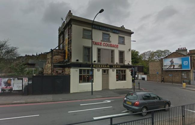 The first Even Stevens club night will be held at The Amersham Arms in New Cross. Photo: Google Maps Street View