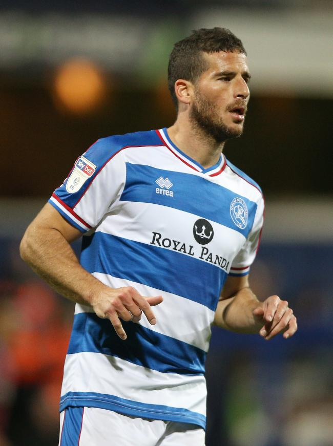 Tomer Hemed playing for QPR last season. Photo: Nigel French / PA