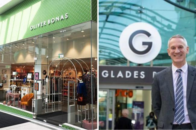 Mark Haynes of The Glades welcomes Oliver Bonas to the shopping centre