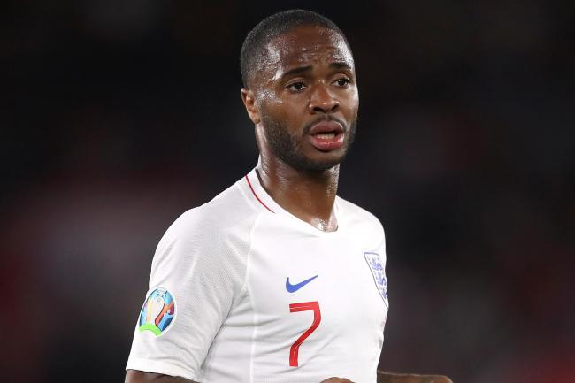 Raheem Sterling was the focus of discriminatory language at Wembley