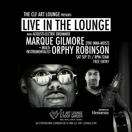 Orphy Robinson x Marque Gilmore - Live in the Lounge