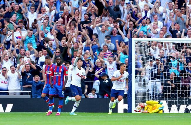 Report: Tottenham 4 Crystal Palace 0 - Son brilliance sinks Eagles away record