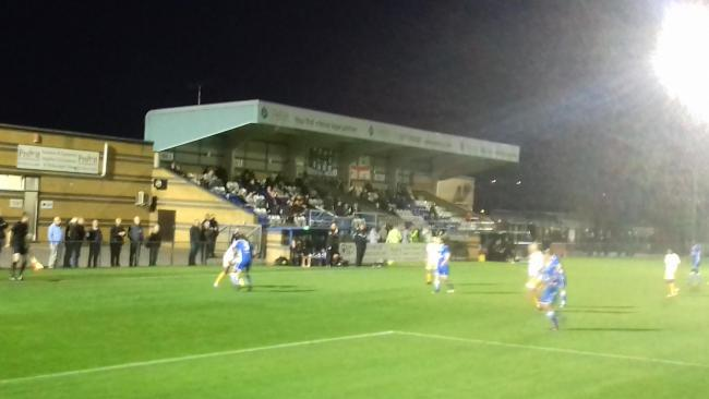 Cray Wanderers first ever visit to Bishop's Stortford ended in a 5-1 win