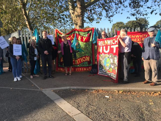 Teacher strike at Bexleyheath Academy