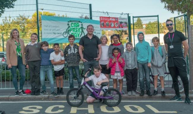 Council closes roads outside NINE Greenwich primary schools as Car Free Day comes early