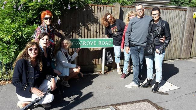 The road where Bowie first lived in Beckenham