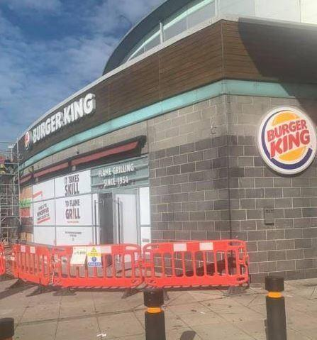 Burger King, Greenwich