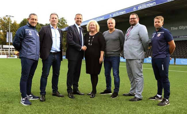 College unveils new partnership with Bromley Football Club Academy