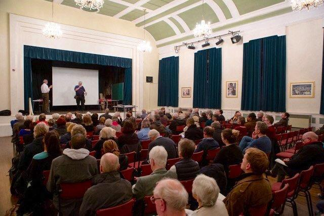 Residents packed out Beckenham Halls (Nick Turpin)