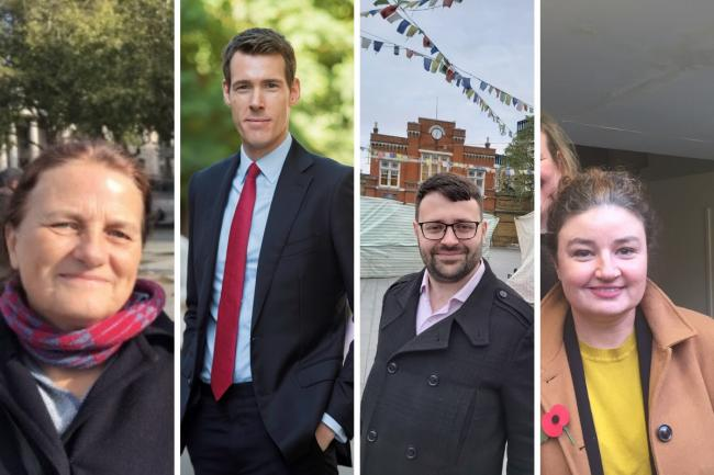General Election candidates for Greenwich and Woolwich.
