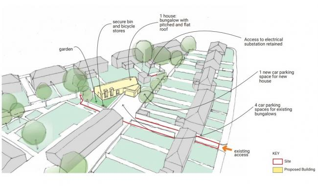 A planned design for the new site. Picture: Greenwich Council/Fuse Architects