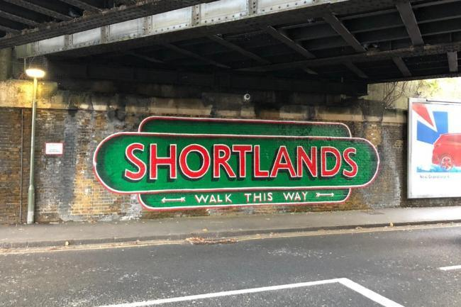 Shortlands station bridge