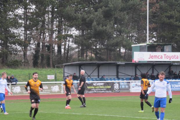 Cray Wanderers go 3rd after stoppage time Jay Leader winner at Enfield Town