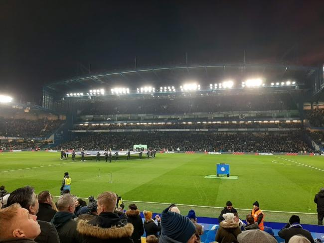 Chelsea Vs Arsenal at Stamford Bridge in the Premier League, 21st January 2020