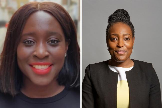 MPs Abena Oppong-Asare (left) and Taiwo Owatemi (right)