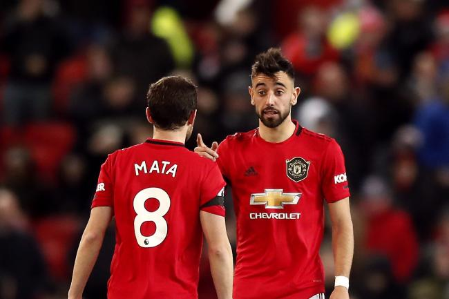 New signing Bruno Fernandes has settled quickly into life at Manchester United with the help of his Spanish team-mates