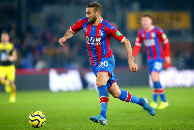 Palace forward 'ruled out for the season'
