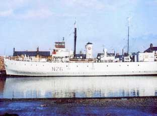 The minelayer HMS Plover had a crew of 100 sailors