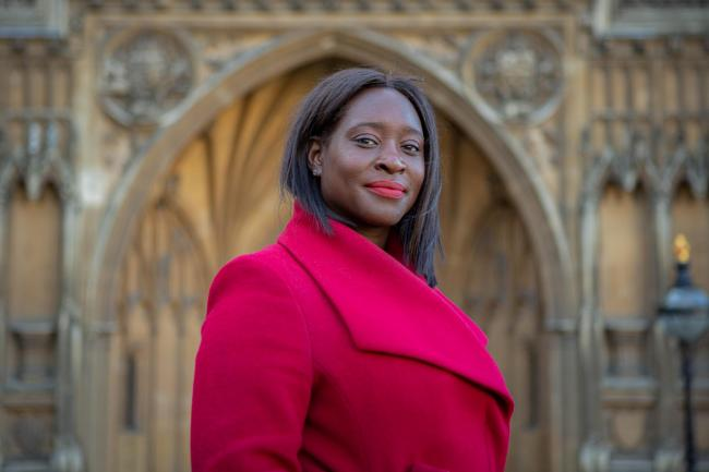 Erith and Thamesmead MP Abena Oppong-Asare.