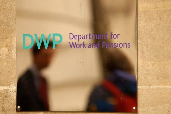 The Department of Works and Pensions in central London (Image: PA)