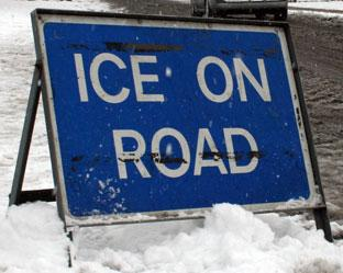 Icy threat as working week begins