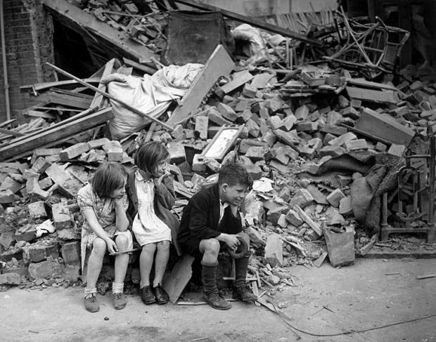 News Shopper: London's East End was heavily bombed during the Second World War. Image taken 1940 during the 'Blitz' (wikipedia).