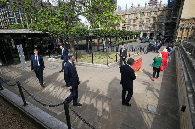 Eltham Mp Clive Efford Slams House Of Commons Mogg Conga News Shopper