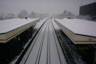 Snowy weather has decimated Southeastern's services in recent weeks