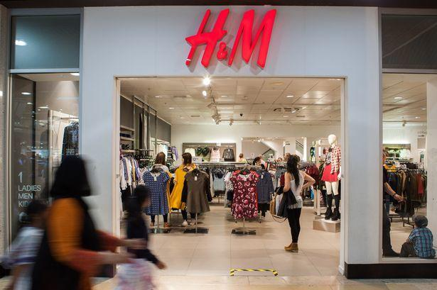 H&M has branches in Lewisham, Bromley and Bexleyheath