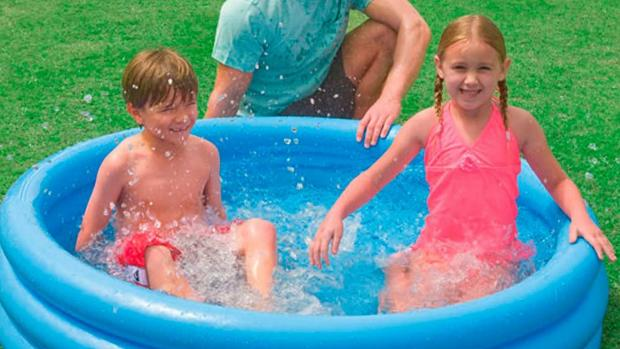 News Shopper: Lower your body temp with this inflatable pool. Credit: Intex