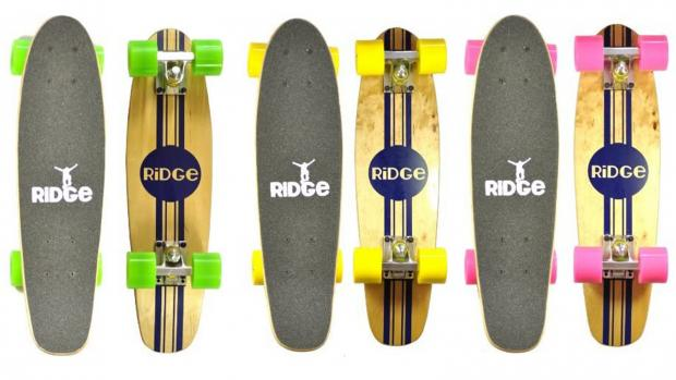 News Shopper: Whether you're learning to skate for the first time or returning to the habit, this board is a great way to do it. Credit: Ridge Skateboards / Amazon