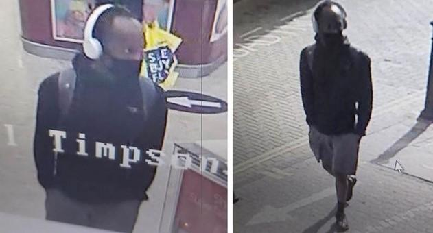 Kent Police have released CCTV images of a man they'd like to talk to after two teenage girls were approached and innappropriately touched in Dartford on Monday.