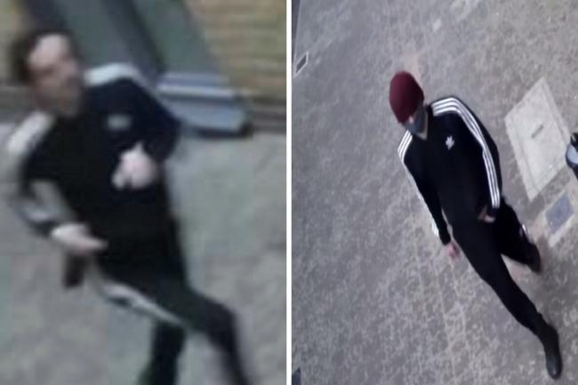 Met Police have released CCTV of a male suspect after a woman was sexually assaulted whilst walking along the Thames Path in Greenwich, south east London.
