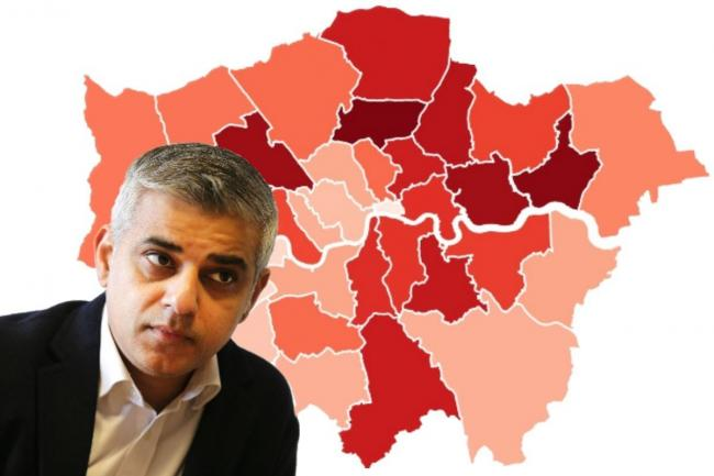 Sadiq Khan fears 'historic' unemployment in the wake of coronavirus.