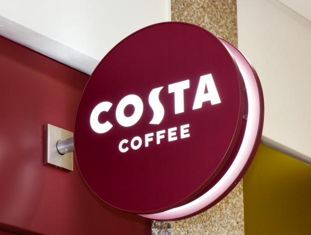 Costa Coffee: Scientists reveal the dirtiest branches after finding 'faecal matter' on tables. Picture: Costa Coffee