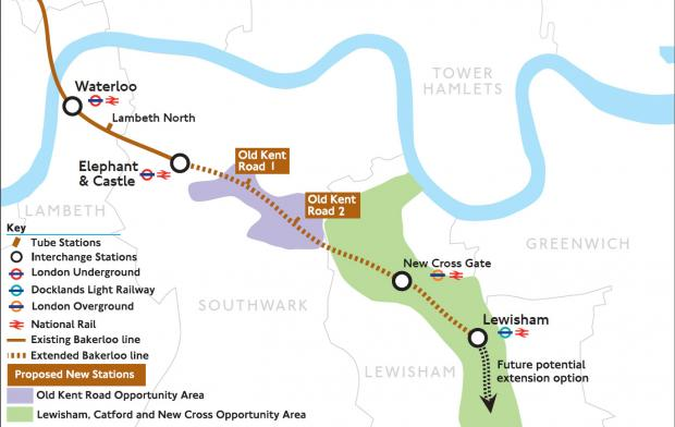 News Shopper: The news comes at the same time that a planned extension of the Bakerloo Line to Lewisham was effectively shelved.