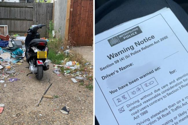 Welling Police: Warning notices are being issued to people in south east London following recent antisocial behaviour involving motorcycles.